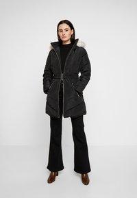 Dorothy Perkins - LONG LUXE PADDED JACKET - Winter coat - black - 1