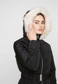 Dorothy Perkins - LONG LUXE PADDED JACKET - Winter coat - black - 5