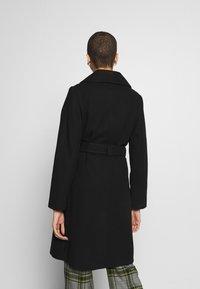 Dorothy Perkins - SHAWL COLLAR COAT - Classic coat - black - 2
