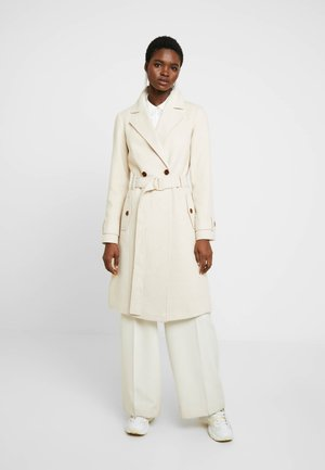 WINTER UTILITY WRAP COAT - Classic coat - cream