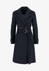 Dorothy Perkins - UTILITY WRAP COAT - Classic coat - black - 4