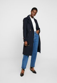 Dorothy Perkins - UTILITY WRAP COAT - Classic coat - black - 1