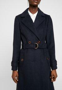 Dorothy Perkins - UTILITY WRAP COAT - Classic coat - black - 5