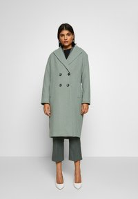 Dorothy Perkins - SAGE RELAXED DOUBLE BREASTED - Cappotto classico - green - 1