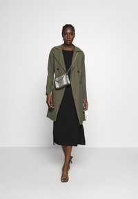 Dorothy Perkins - BUTTON FRONT - Trench - khaki - 1