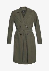 Dorothy Perkins - BUTTON FRONT - Trench - khaki - 4