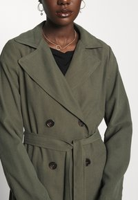 Dorothy Perkins - BUTTON FRONT - Trench - khaki - 5