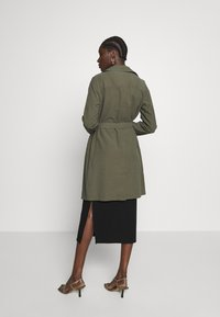 Dorothy Perkins - BUTTON FRONT - Trench - khaki - 2