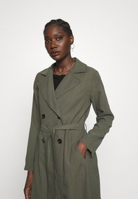 Dorothy Perkins - BUTTON FRONT - Trench - khaki - 3