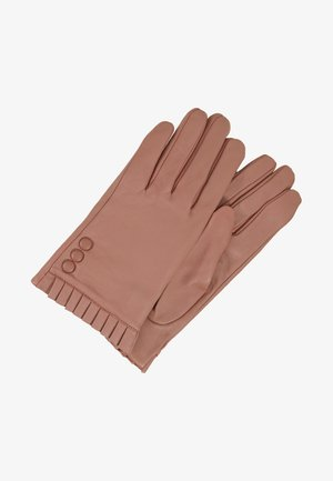 BUTTON FRILL GLOVE - Gants - blush