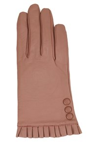 Dorothy Perkins - BUTTON FRILL GLOVE - Guantes - blush - 2
