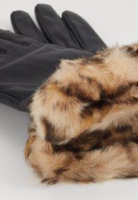 Dorothy Perkins - TRIM GLOVE - Handschoenen - black - 3