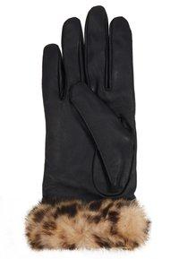 Dorothy Perkins - TRIM GLOVE - Handschoenen - black - 2