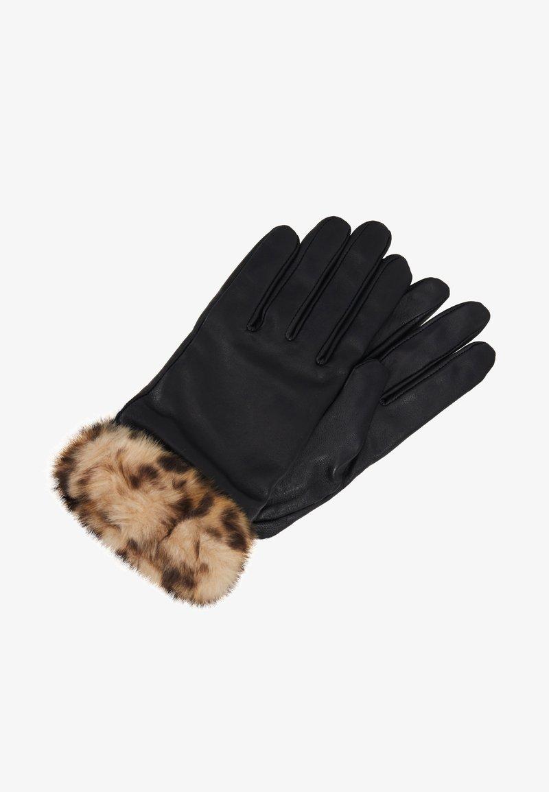 Dorothy Perkins - TRIM GLOVE - Handschoenen - black