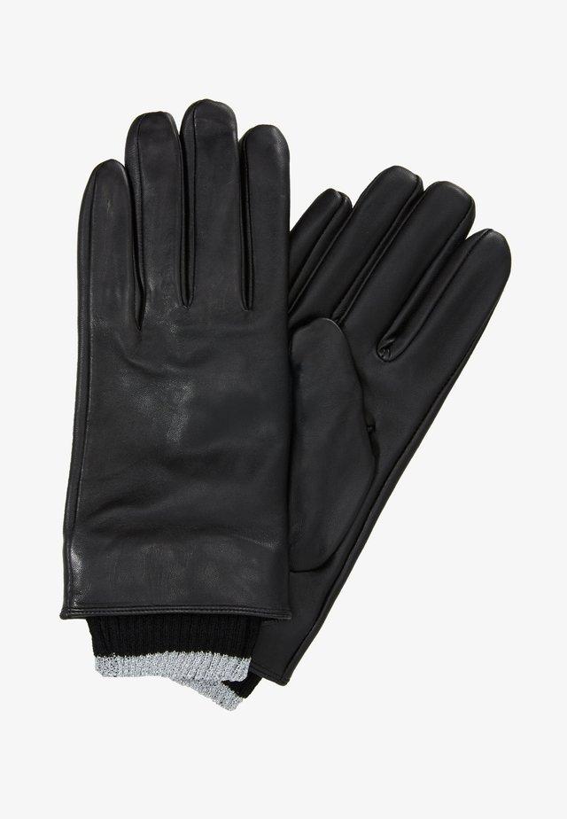 CHECK BOW GLOVE - Rękawiczki pięciopalcowe - black