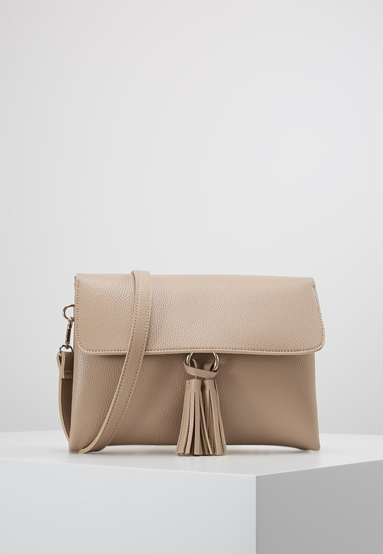 Dorothy Perkins - RING TASSEL CASUAL XBODY - Across body bag - camel