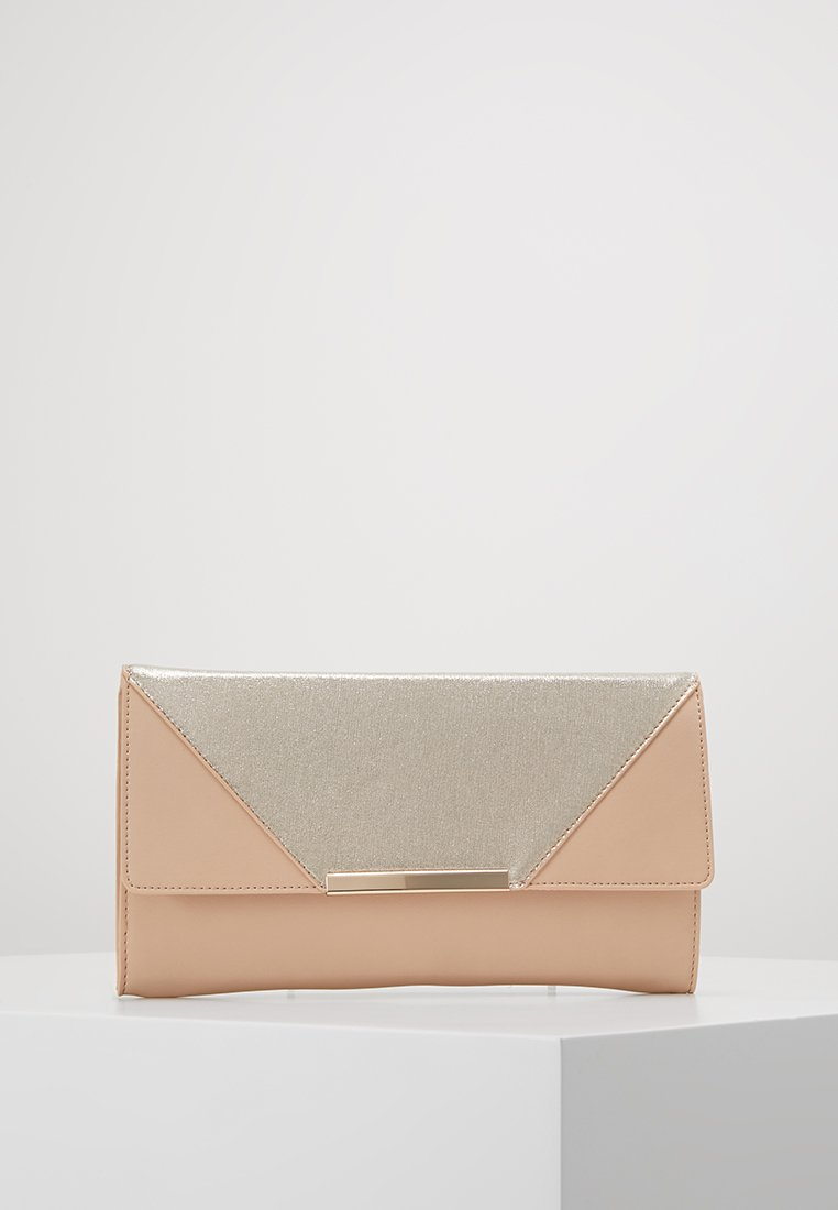 Dorothy Perkins - HALF AND HALF - Clutch - nude