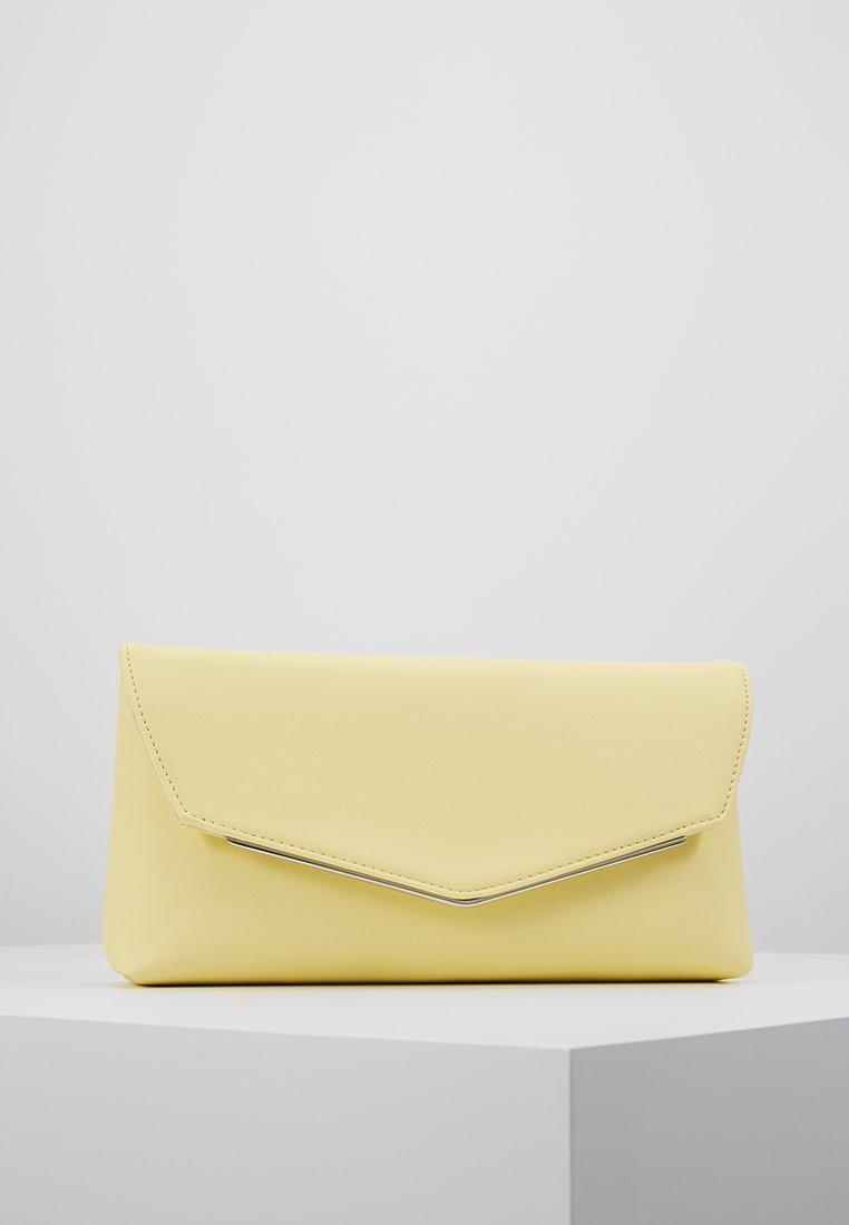 Dorothy Perkins - BAR - Clutch - light yellow