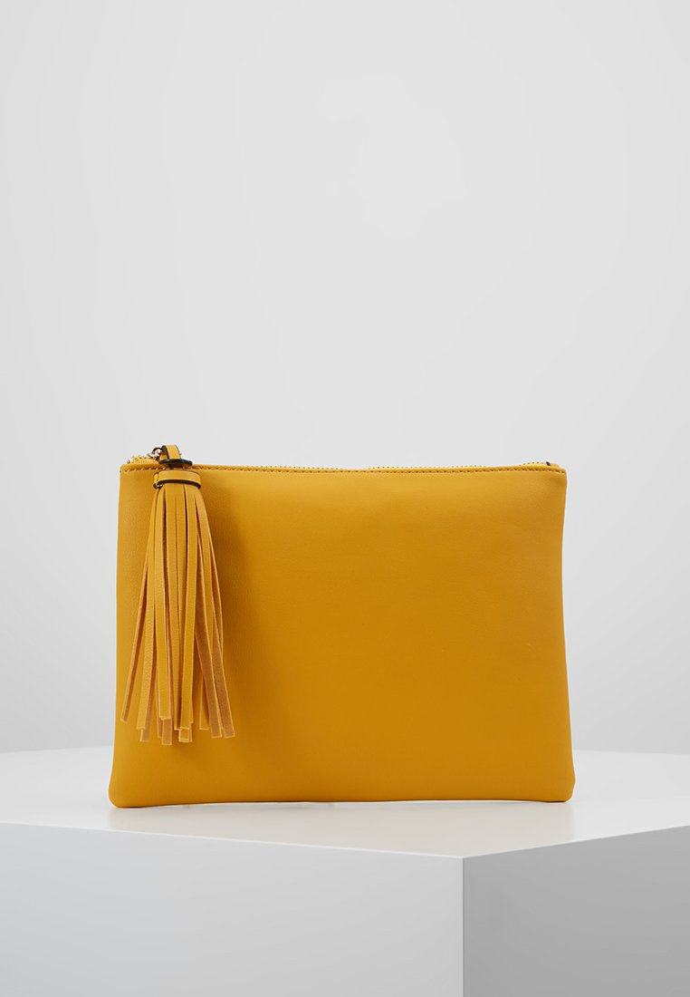 Dorothy Perkins - TASSEL - Clutch - yellow