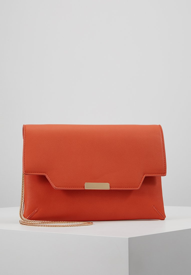 Dorothy Perkins - DOUBLE COMP - Clutches - orange