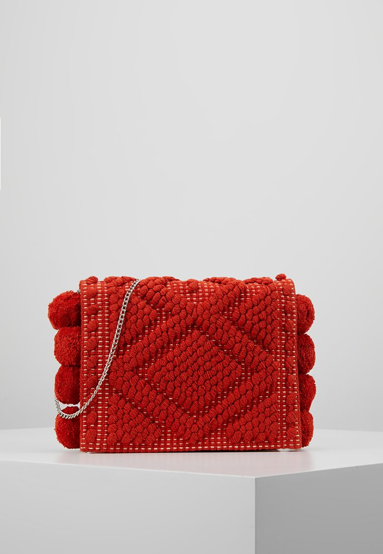 Dorothy Perkins - BOBBLE CROSSBODY - Across body bag - orange