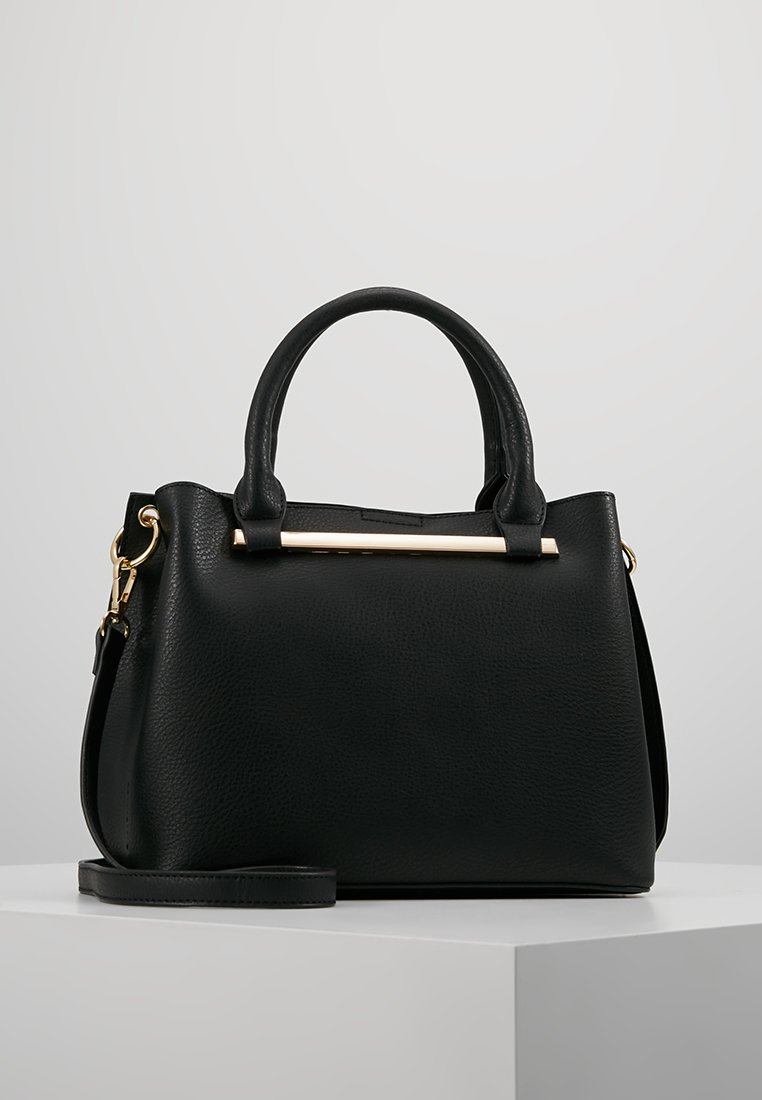 Dorothy Perkins - BAR MINI TOTE - Handbag - black