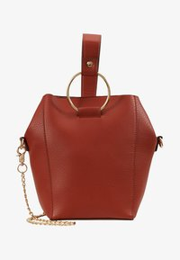 Dorothy Perkins - RING BUCKET CROSSBODY - Axelremsväska - rust - 5