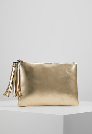 TASSEL - Clutch - gold