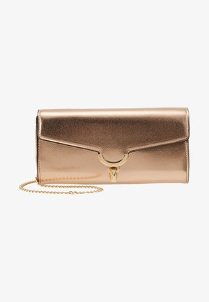 TWIST BAR CLUTCH - Clutch - gold