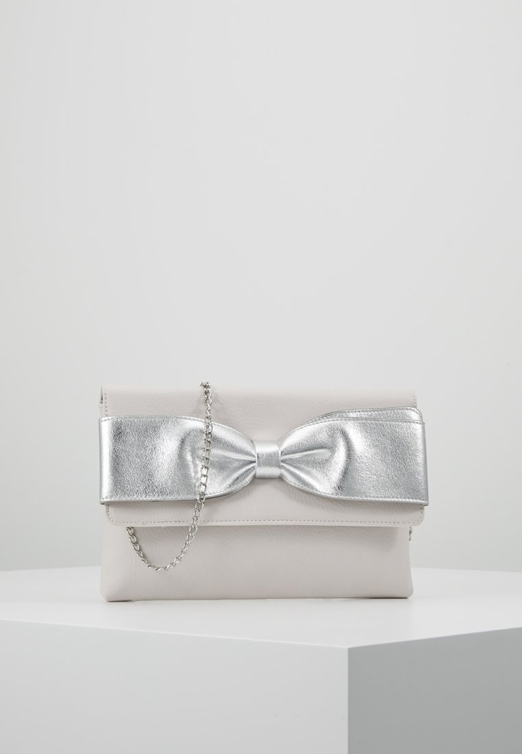 Dorothy Perkins - BOW  - Clutch - silver