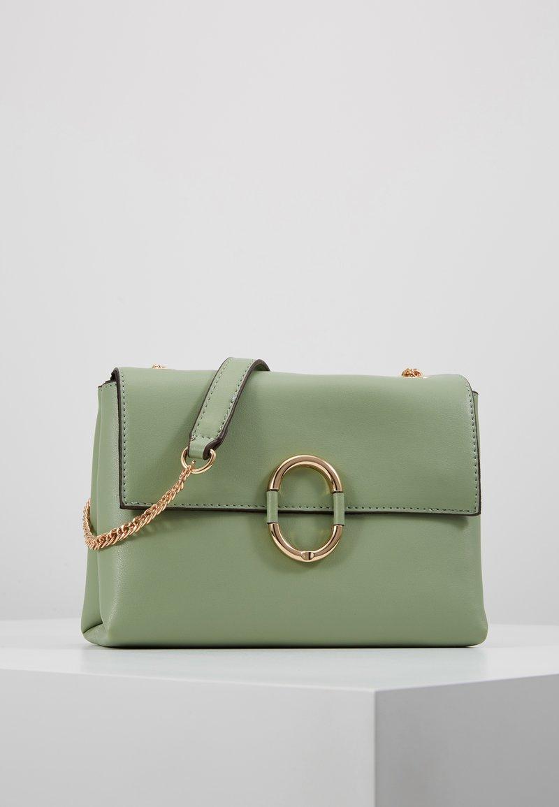 Dorothy Perkins - O RING CROSSBODY - Across body bag - olive