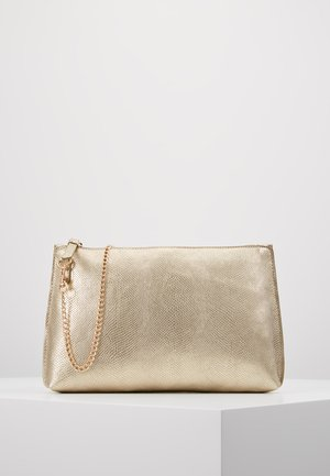 POUCH COMP - Clutch - gold-coloured