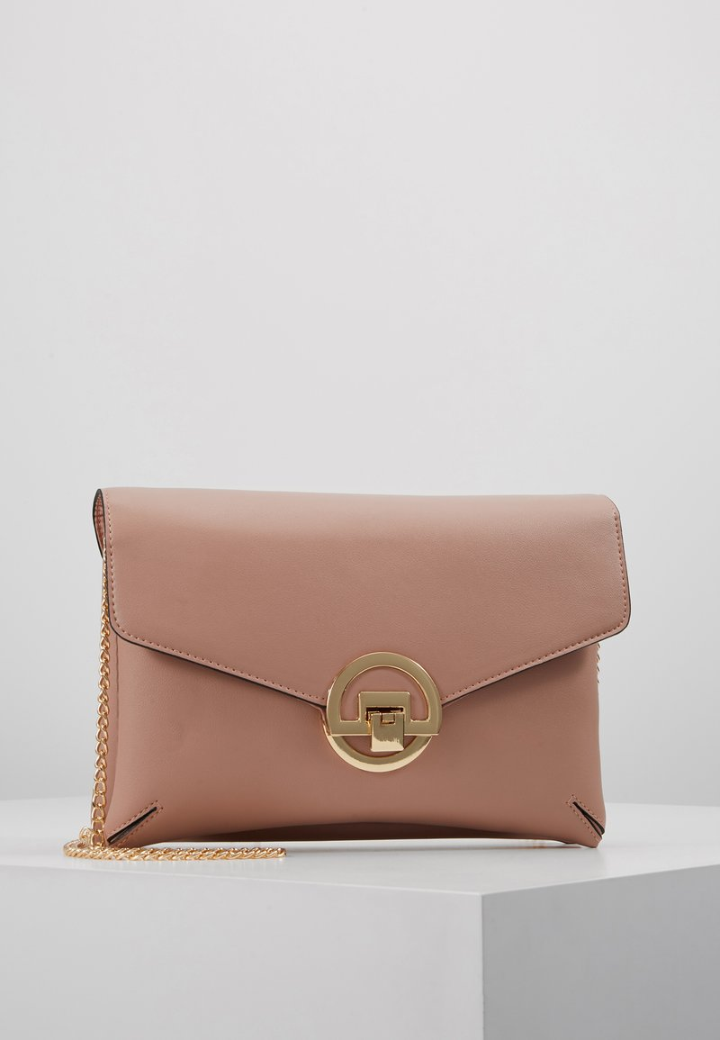 Dorothy Perkins - DOUBLE COMP HARDWARE - Pochette - blush