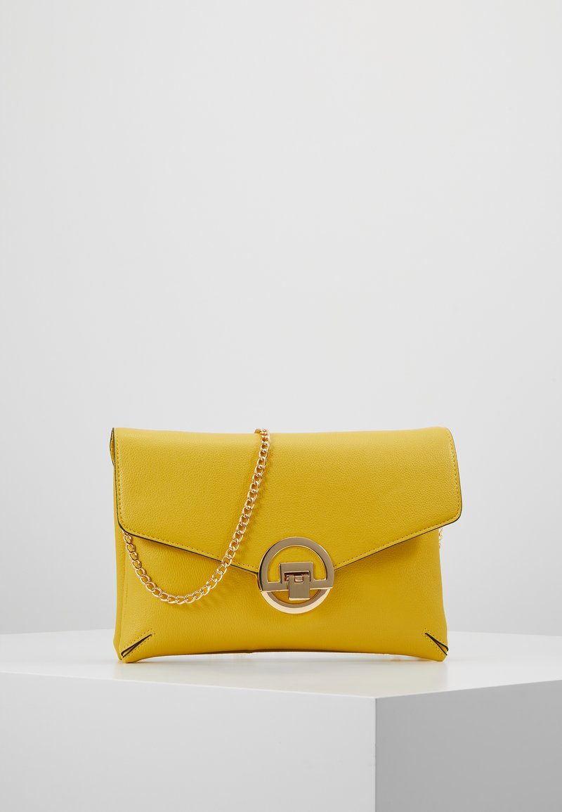 Dorothy Perkins - DOUBLE COMP HARDWARE - Clutch - lime