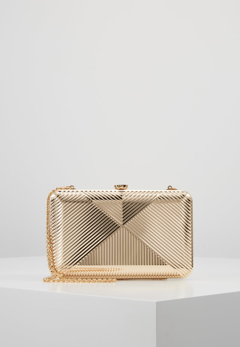 Dorothy Perkins - CASE BOX - Clutch - gold