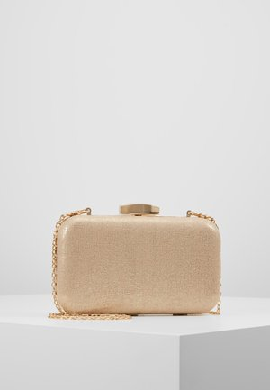 ROUNDED BOX  - Pochette - gold