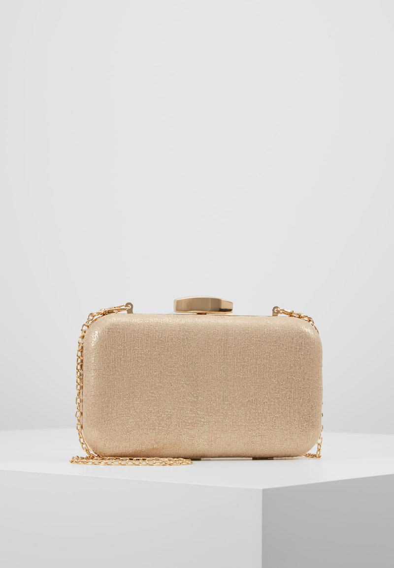 Dorothy Perkins - ROUNDED BOX  - Clutch - gold