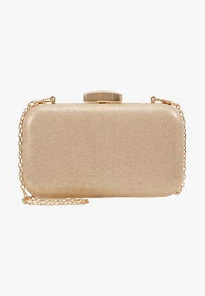 ROUNDED BOX  - Clutch - gold