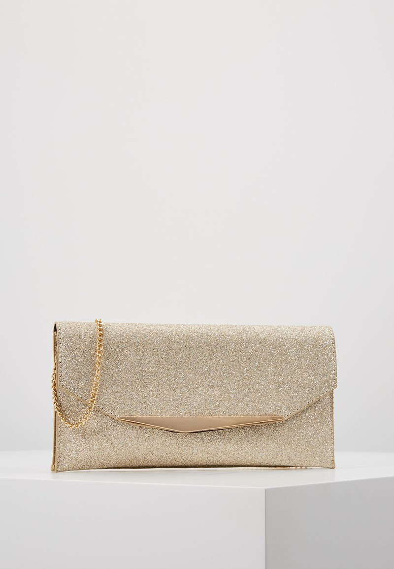 Dorothy Perkins - BAR GLITTER - Clutch - gold
