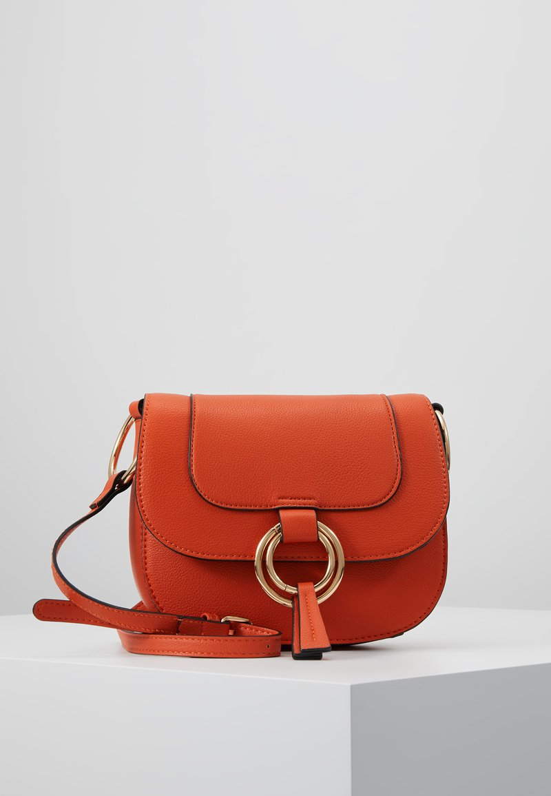 Dorothy Perkins - RING SADDLE - Across body bag - orange