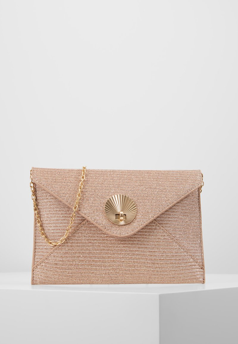 Dorothy Perkins - SHELL - Clutch - rose gold