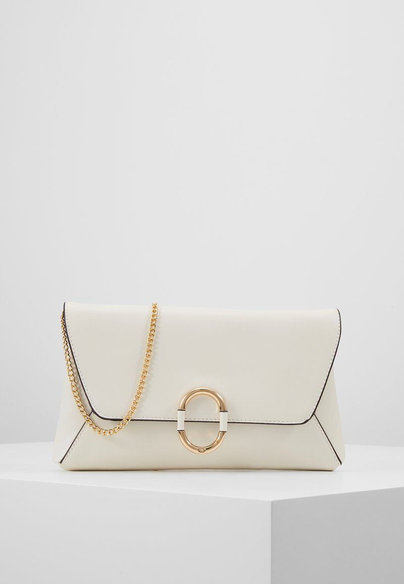 Dorothy Perkins - O RING - Clutches - cream