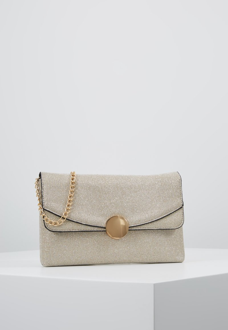Dorothy Perkins - CIRCLE HARDWARE - Clutch - gold