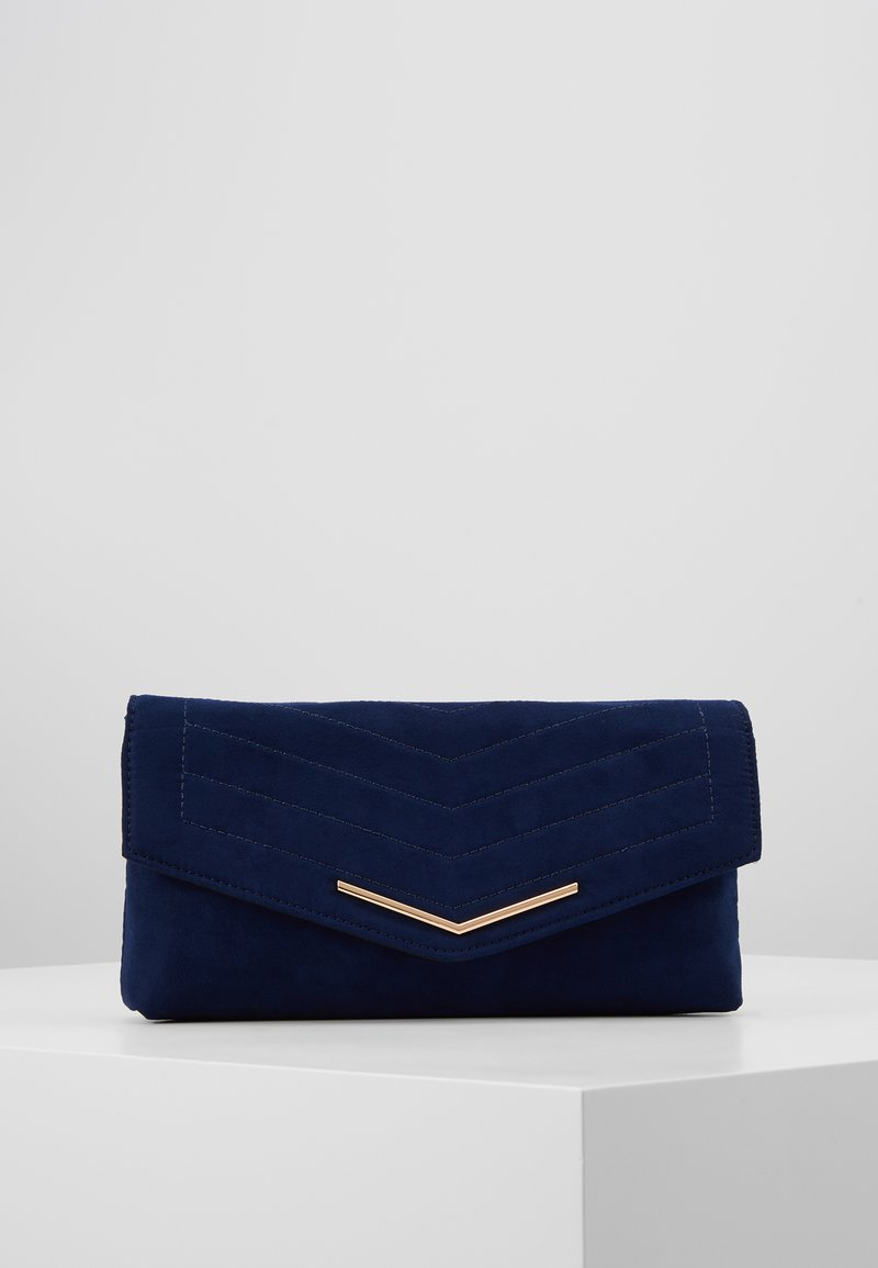 Dorothy Perkins - STITCH BAR - Pochette - navy