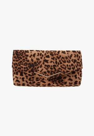 STITCHED - Pochette - brown