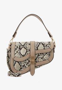 Dorothy Perkins - CURVE TWISTLOCK SHOULDER - Handbag - nude - 5