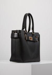 Dorothy Perkins - BELTED TOTE - Handbag - black - 3