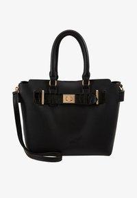 Dorothy Perkins - BELTED TOTE - Handbag - black - 5