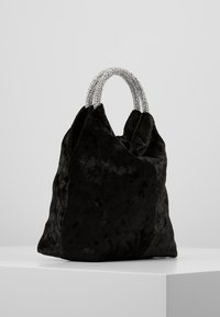 Dorothy Perkins - DIAMONTE CIRCLE HANDLE BUCKET - Håndveske - black - 3