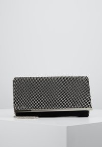 Dorothy Perkins - DIAMONTE CHAINMAIL CLUTCH - Clutch - silver - 0
